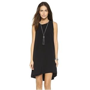 BB Dakota High Low Dress Small Black Sleeveless